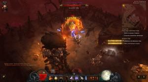 """Достижение в игре Diablo 3 """"Беготня по болоту"""": """"Владыка горы"""" (локация Пути Утопших)"""