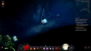 Затерянная Шахта Уровень 2 с гоблином в игре Diablo 3