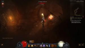 Гоблины в Diablo 3 в Пещере клана Луны 1 уровень